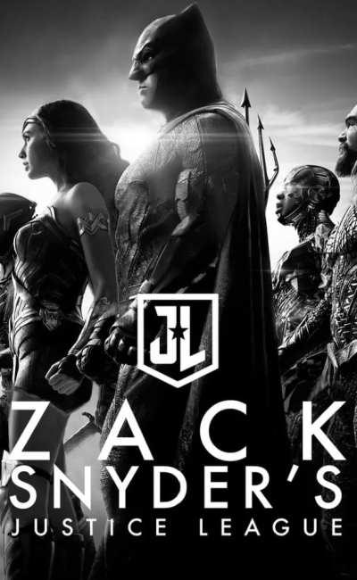 Zack Snyder's Justice League, affiche