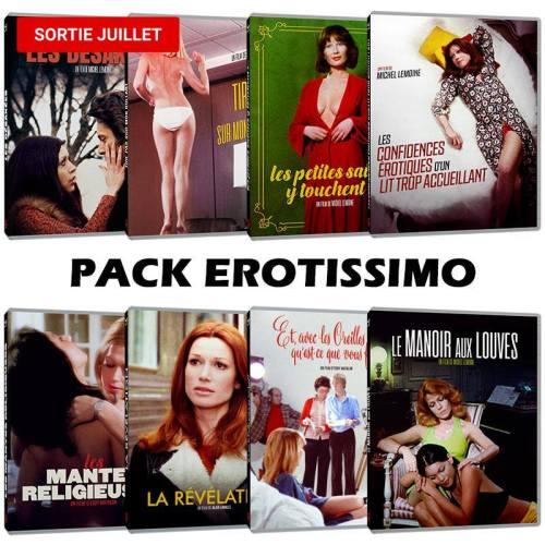 Pack Erotissimo Le Chat qui fume