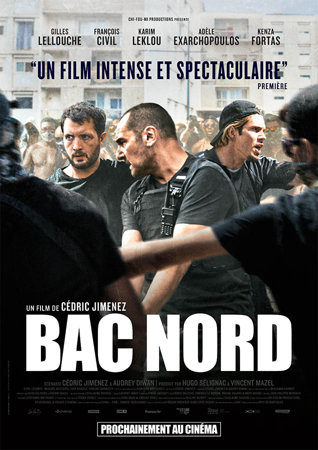 BAC Nord de Cédric Jimenez, affiche