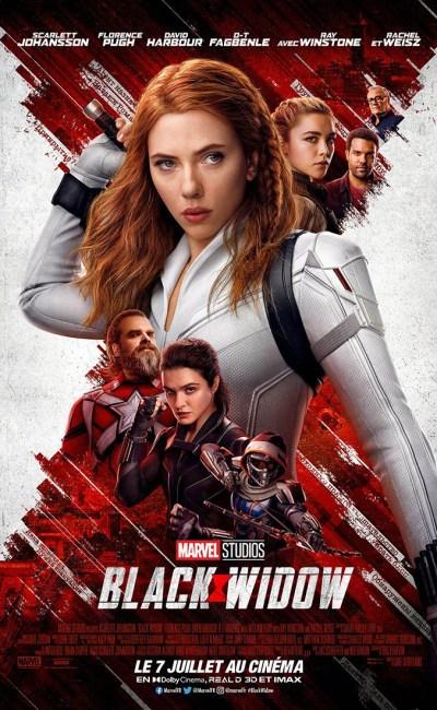 Affiche définitive de Black Widow