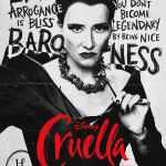 Cruella, affiche personnage Emma Thompson