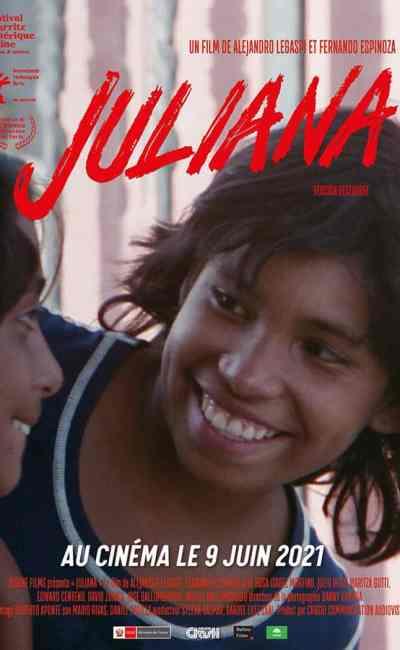 Juliana, affiche du film de Alejandro Legaspi et Fernando Espinoza (1989), reprise 2021