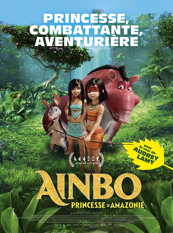 Ainbo princesse d'Amazonie; affiche