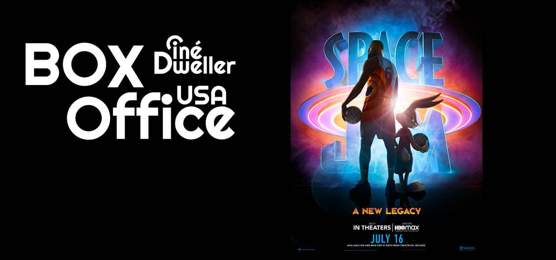 Box-office USA : Space Jam 2 numéro 1