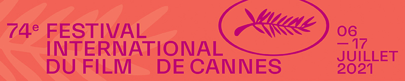 Bandeau Cannes 2021 orange