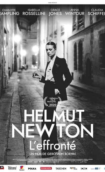 Helmut Netwon, l'effronté - affiche officielle du film
