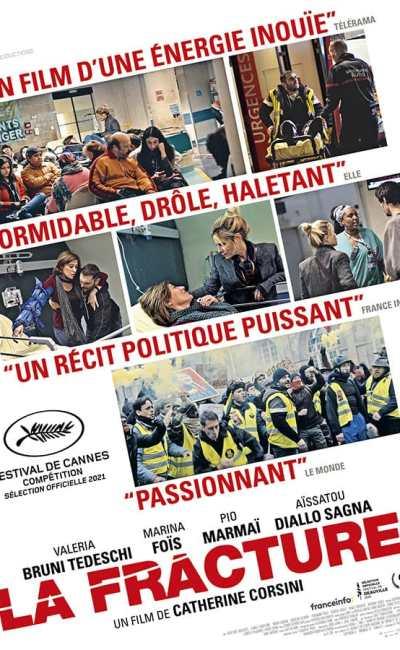 La Fracture, affiche du film (Catherine Corsini)