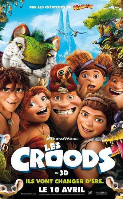 Les Croods, affiche du premiervolet (2013)