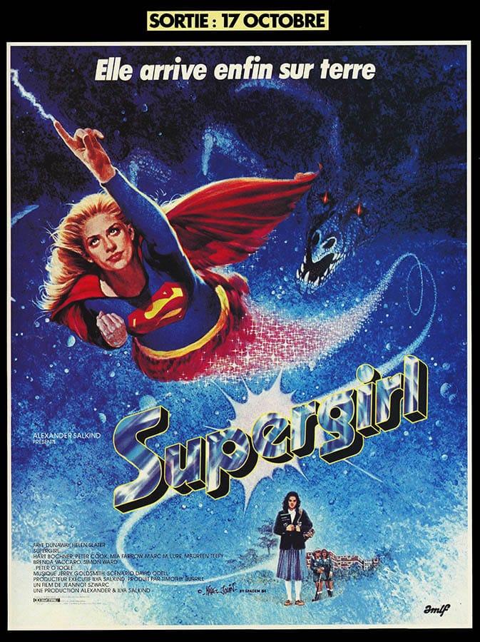 Supergirl (film 1984), affiche française