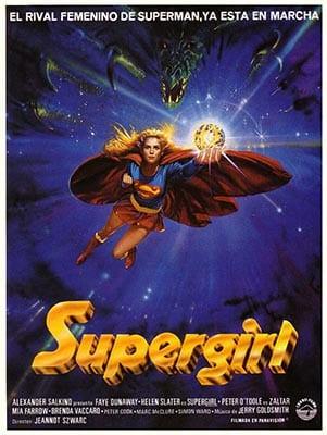 Affiche espagnole de Supergirl