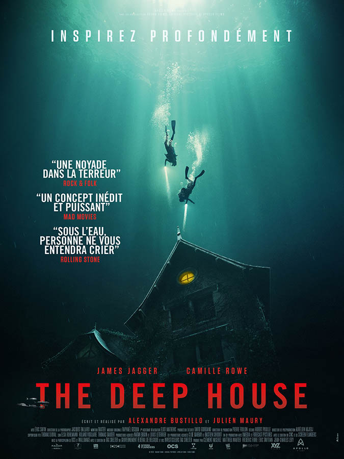 The Deep House, affiche