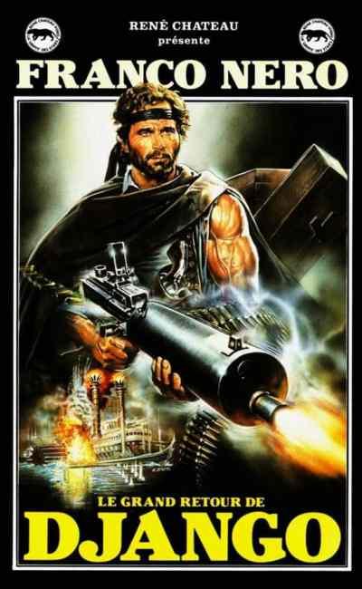 Le grand retour de Django / Le retour de Django / Django 2, VHS René Chateau Vidéo