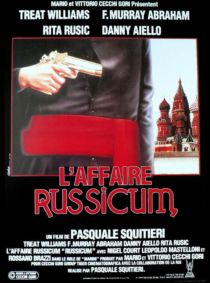 L'affaire Russicum, affiche