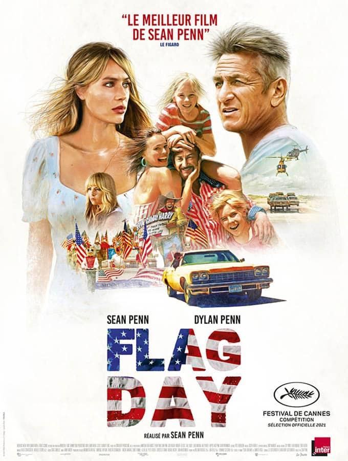 Flag Day, affiche du film de Sean Penn