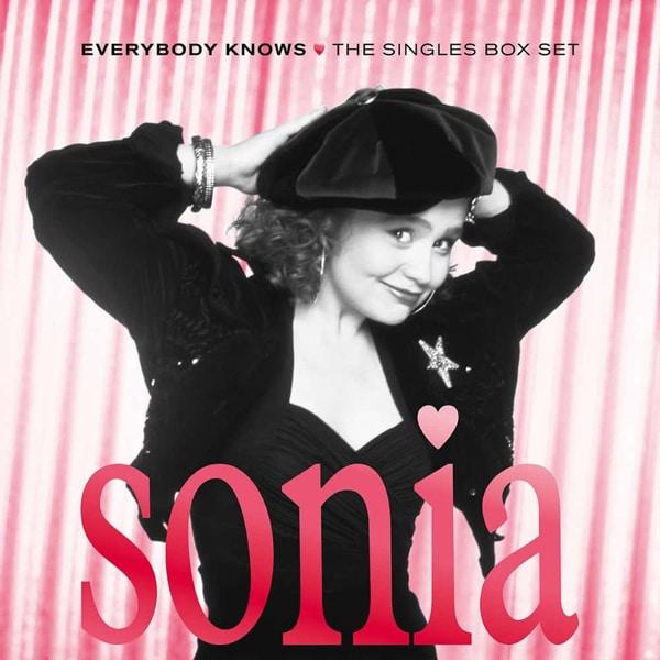 Sonia Everybody Knows, the Singles Box Set pochette