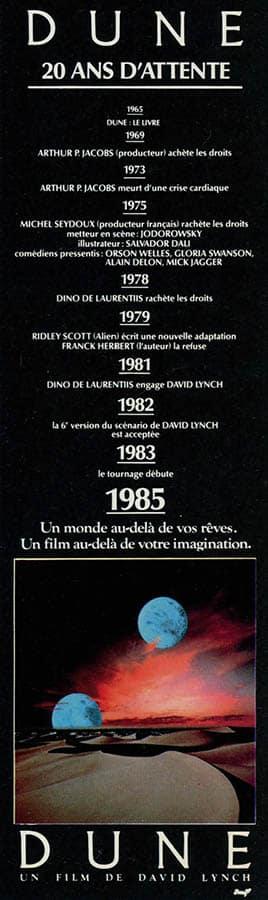 Dune, affiche promotionnelle pantalon 1