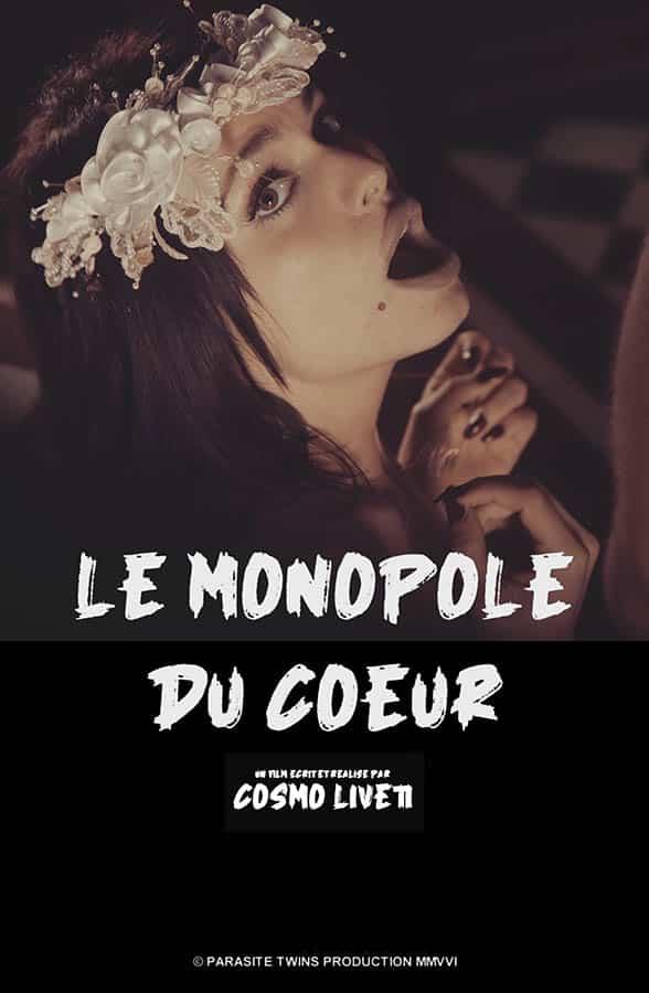 Le monopole du coeur de cosmo Liveti, affiche