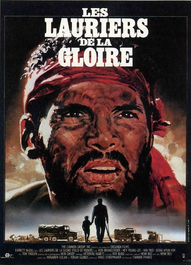 Les Lauriers de la gloire, affiche du film (Everett McGill)