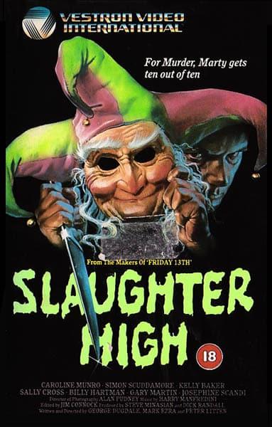 Le jour des fous (Slaughter House), jaquette britannique