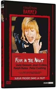 Sueur froide dans la nuit, jaquette dvd
