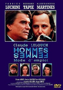 Jaquette DVD de Hommes, femmes, mode d'emploi de Claude Lelouch