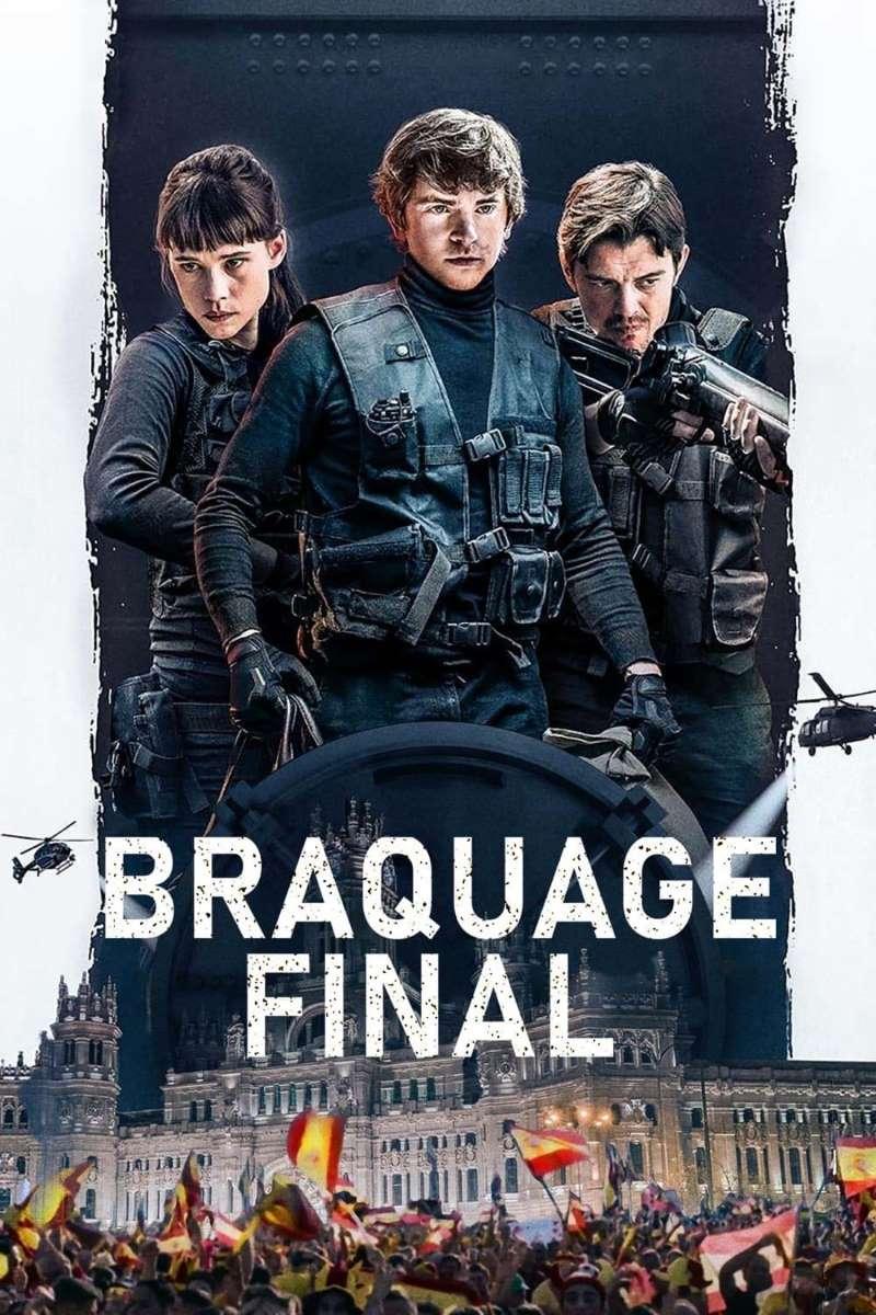 Braquage final, affiche VOD