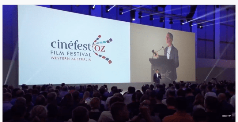 CinefestOZ Takes To the World Stage at Sony's 2019 IFA Press Conference 8