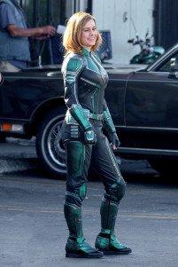 Capitana Marvel, Brie Larson