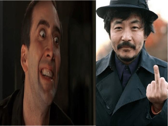 Sion sono y Nicolas Cage