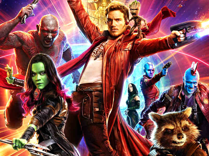 guardianes de la galaxia james gunn