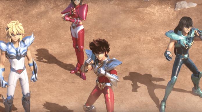 Saint Seiya: Los Caballeros del Zodiaco 01