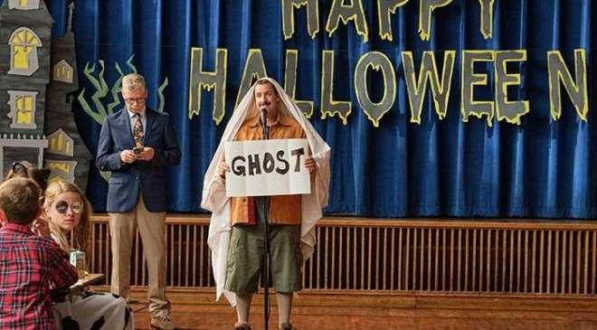 El halloween de Hubie Adam Sandler