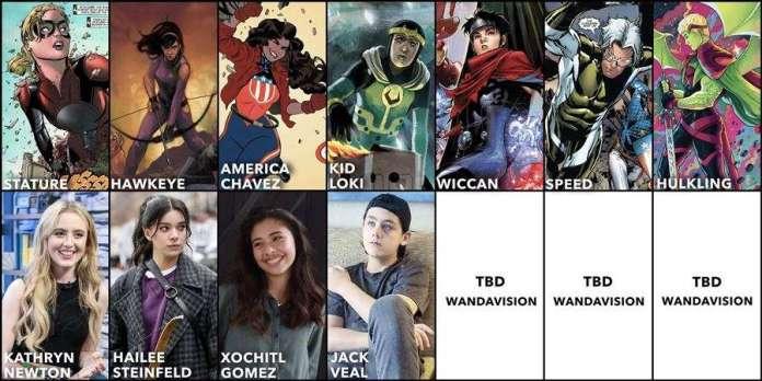 Wandavision young avengers