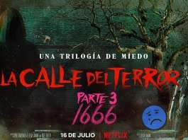 La calle del terror Parte 3 1666 Netflix