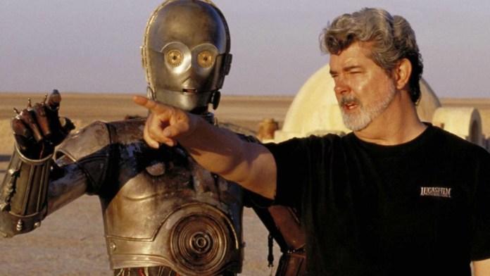 George Lucas en una escena de StarWars