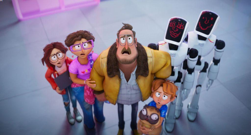 The Mitchells vs The Machines, la película animada de Netflix que no podés perderte