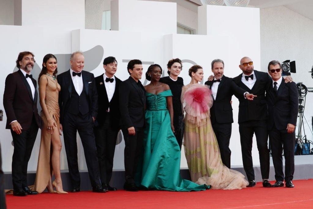 El cast de Dune eclipsa las miradas en el Festival de Venecia