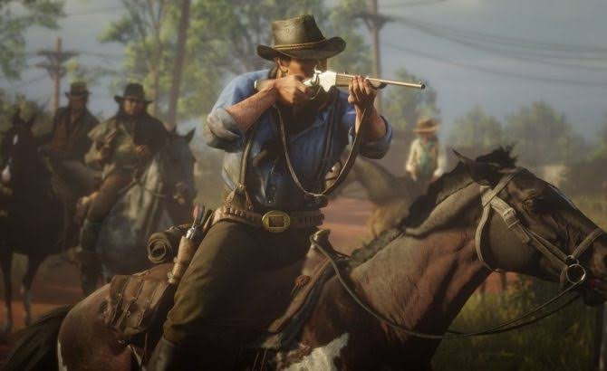 Trailer de lanzamiento de Red Dead Redemption 2.