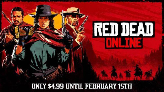 Consigue La Versión Por Separado De Red Dead Online Con Un 75% De Descuento Hasta El 15 De Febrero