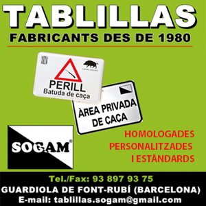 Tablillas SOGAM 1