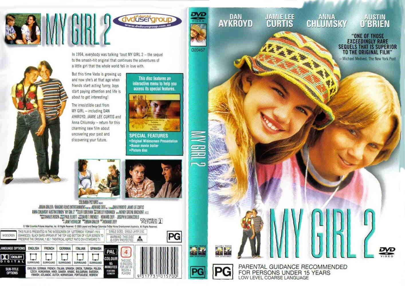 my_girl_2_custom-cdcovers_cc-front