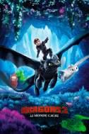 """Affiche du film """"Dragons 3: Le monde caché"""""""