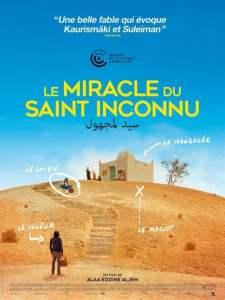 """Affiche du film """"Le miracle du Saint Inconnu"""""""