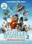 """Affiche du film """"La Bataille géante de boules de neige 2, l'incroyable course de luge"""""""