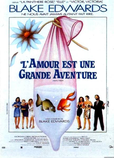 L'amour Est Une Grande Aventure : l'amour, grande, aventure, L'AMOUR, GRANDE, AVENTURE, Blake, Edwards, (1989), Cinéluctable