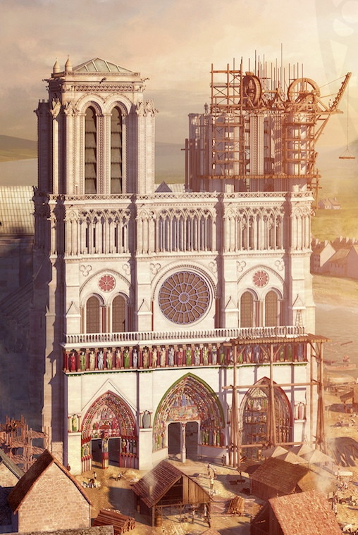 L'histoire De Notre Dame De Paris : l'histoire, notre, paris, Notre-Dame, Paris,, L'épreuve, Siècles, FESTIVAL, INTERNATIONAL, D'HISTOIRE