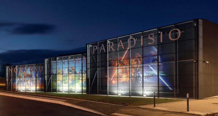 Façade Arrière Cinema Paradisio