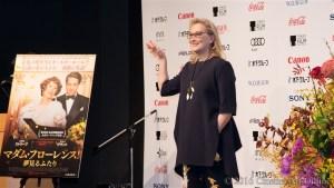 第29回東京国際映画祭(TIFF) 映画「マダム・フローレンス」 メリル・ストリープ来日記者会見