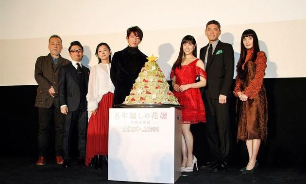 【写真】映画『8年越しの花嫁 奇跡の実話』公開初日舞台挨拶