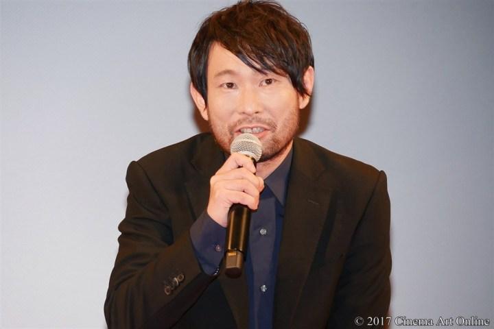 【写真】映画『羊の木』完成披露試写会 水澤紳吾